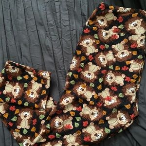 LuLaRoe hedgehog leggings